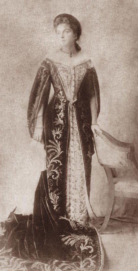 Meri Shervashidze. 1913